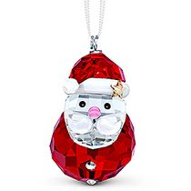 (SOLD OUT)  Rocking Santa Claus Ornament