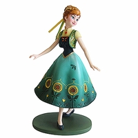 Anna as seen in Frozen Fever Couture de Force Figurine by Enesco