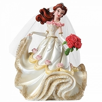 (SOLD OUT) Belle Bridal Figurine Couture de Force by Enesco