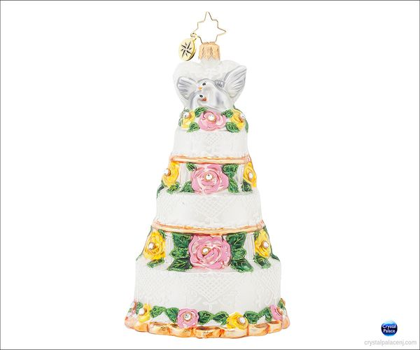 (SOLD OUT) Bridal Centerpiece Radko Ornament