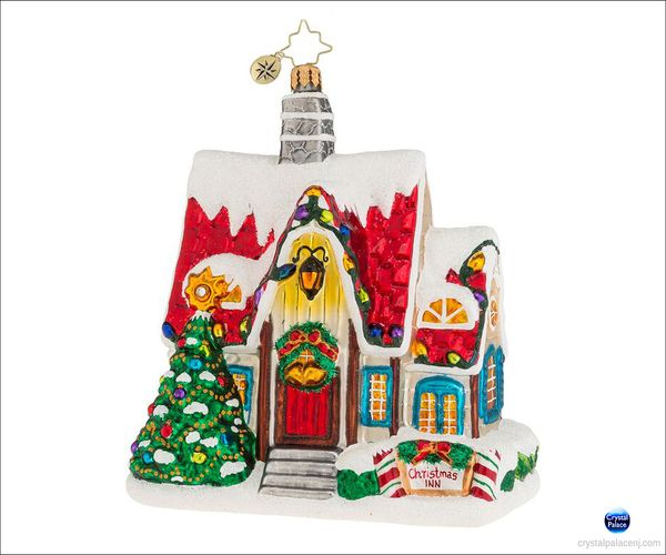 (SOLD OUT) Christmas Auberge Radko Ornament