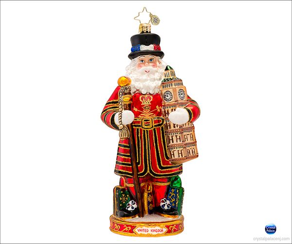 (SOLD OUT) Christmas Crown Guard  Radko   Ornament