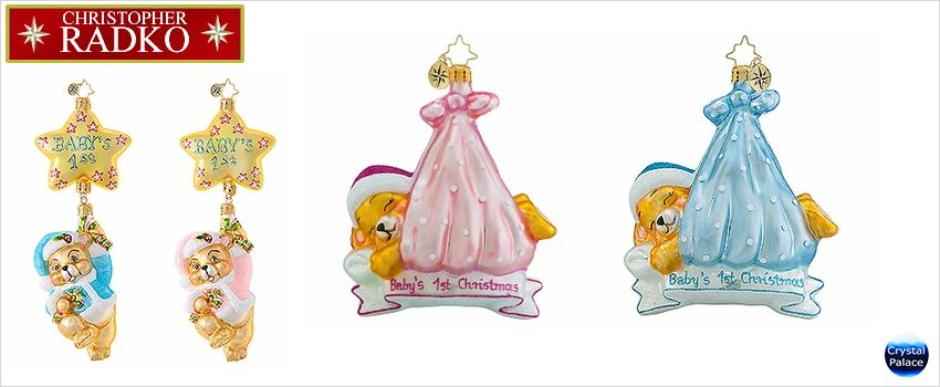Baby - Children Radko Ornaments
