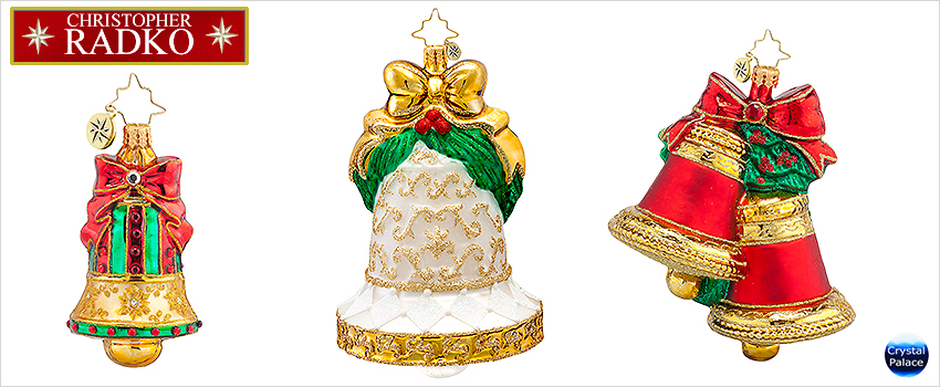 Bells  Radko Christmas Ornaments