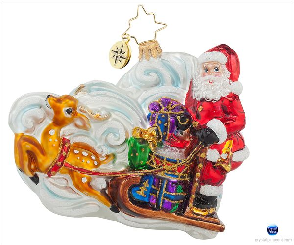 (SOLD OUT) Guide the Way  Radko Christmas Ornament