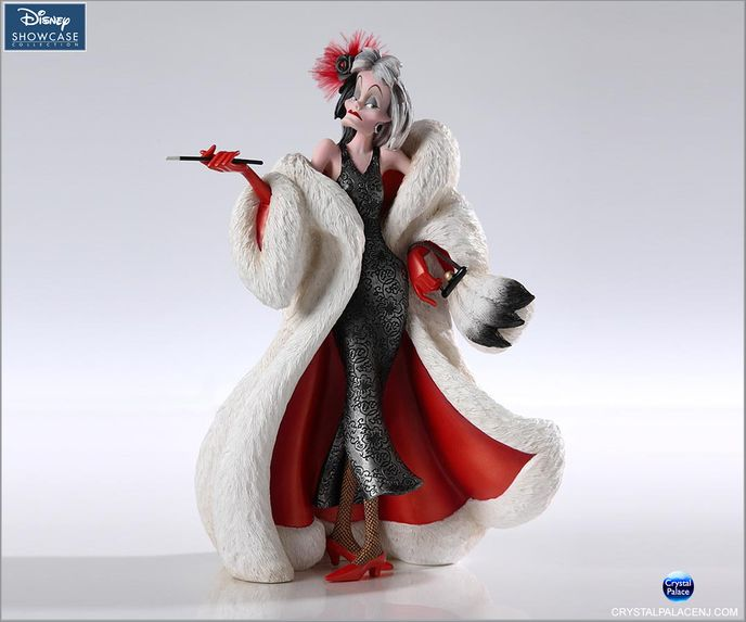 (SOLD OUT) Cruella Figurine Couture de Force by Enesco