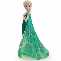 (SOLD OUT) Disney Elsa as seen in Frozen Fever Couture de Force Figurine by Enesco