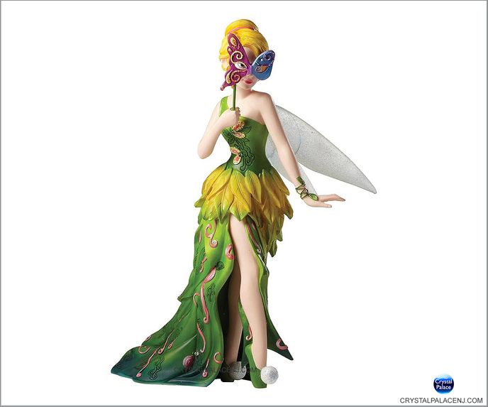 (SOLD OUT) Disney Masquerade Peter Pan Tinker Bell Couture de Force Figurine by Enesco