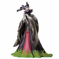 (SOLD OUT) Disney Masquerade Sleeping Beauty Maleficent Couture de Force Figurine by Enesco