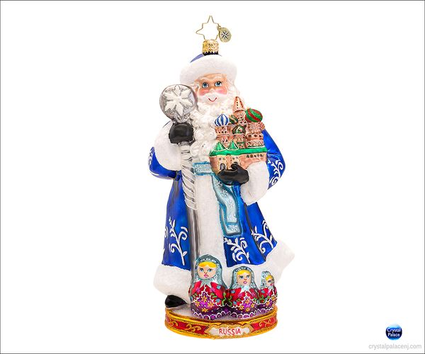 (SOLD OUT) From Russia With Love Radko  Ornament