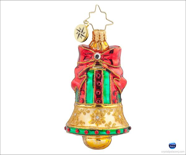 (SOLD OUT)  Golden Chime Radko Ornament