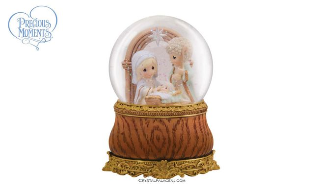 (SOLD OUT) Holy Family - Musical Water Globe