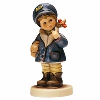 Little Miss Mail Carrier Figurine