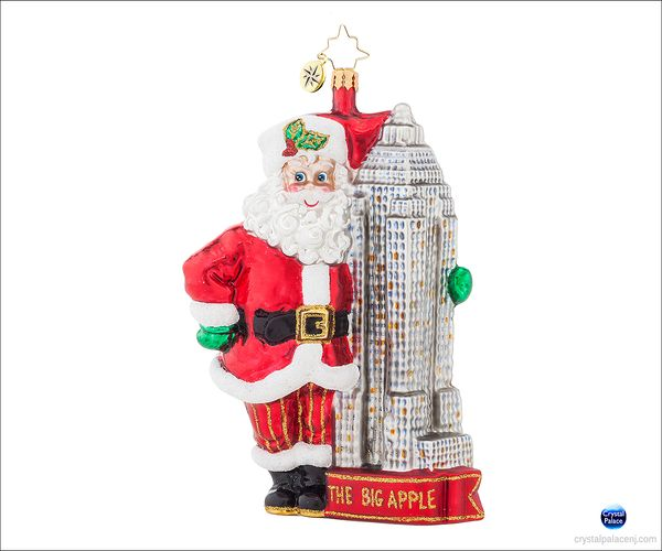 (SOLD OUT) Made in Manhattan Radko Ornament