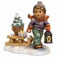 M.I. Hummel Christmas is Coming Figurine