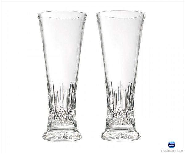 (SOLD OUT) Waterford Lismore Pilsner Tall Beverage, Pair