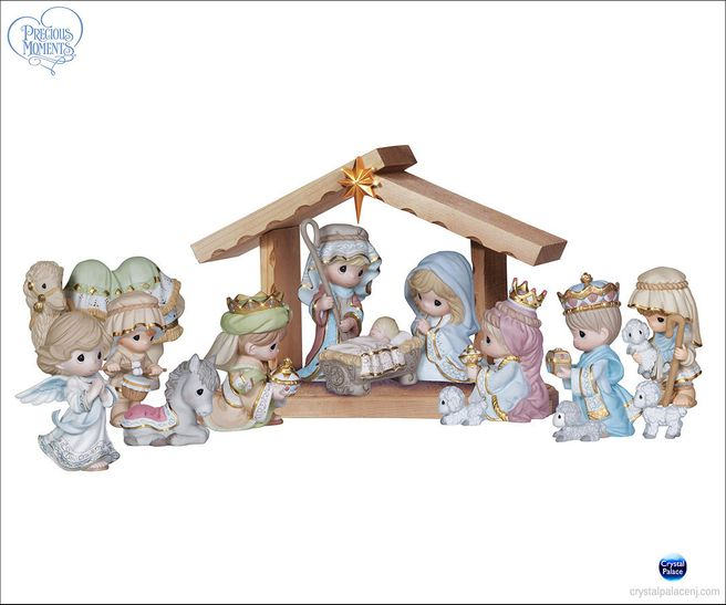 (SOLD OUT) A Savior Is Born 15 Piece Nativity Set