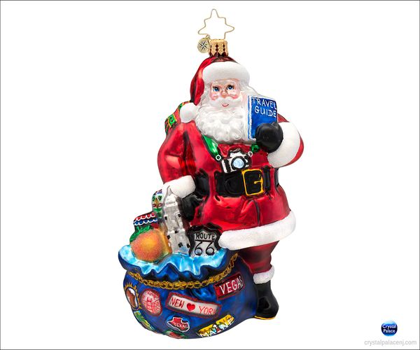 (SOLD OUT) I've Been Everywhere  Radko  Ornament