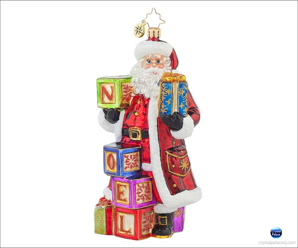 (SOLD OUT)  Simply Noel  Radko Ornament