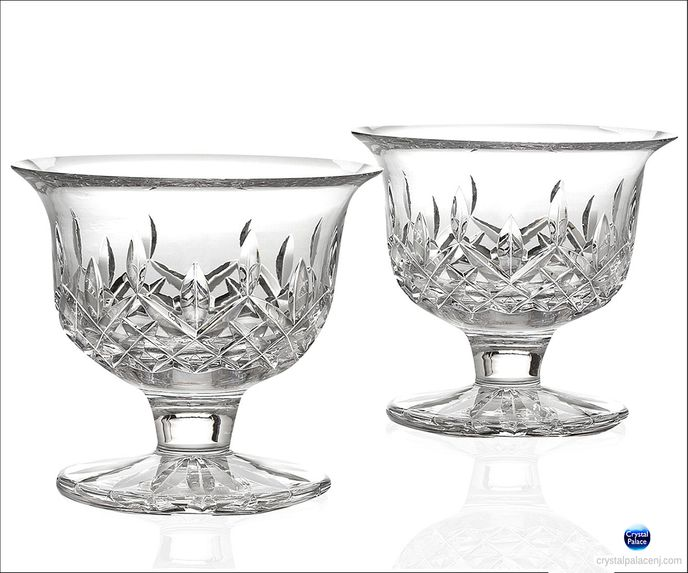 Lismore Small Footed Bowl Pair