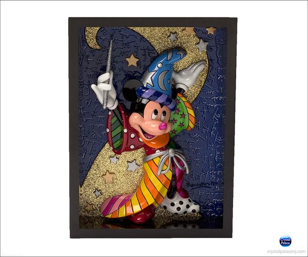(SOLD OUT) Sorcerer Mickey Pop Art Block