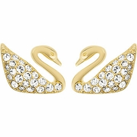 (SOLD OUT) Swan Mini Pierced Earrings