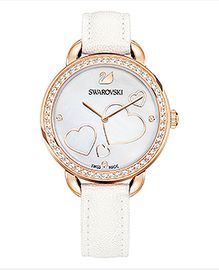 Aila Day Heart Watch, White
