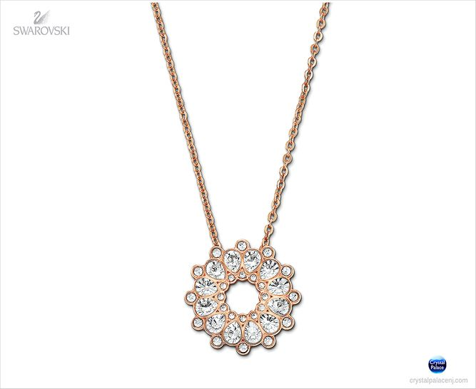 (SOLD OUT) Swarovski Asset Necklace clear crystals
