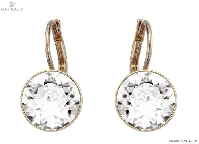(SOLD OUT) Swarovski Bella Crystal Mini Pierced Earrings