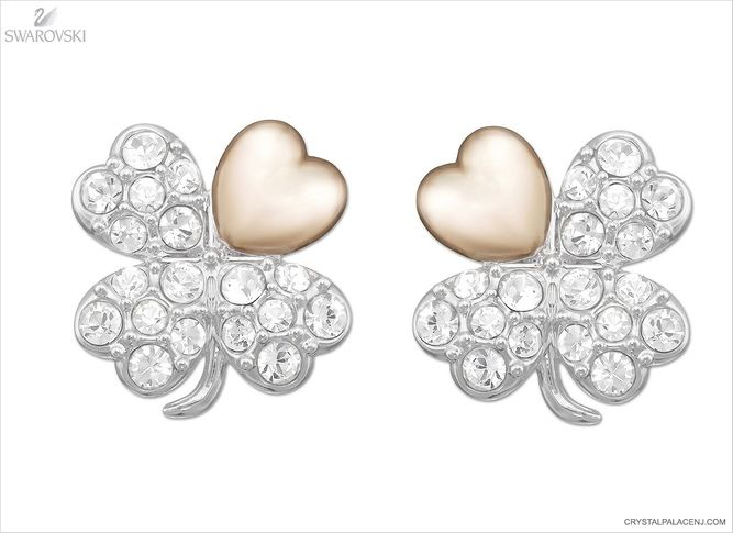 (SOLD OUT) Swarovski Better Clover Pierced Earrings