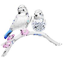 (SOLD OUT) Blue Chickadees Blue Tits Bird Couple