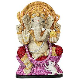 (SOLD OUT) Crystal Myriad Ganpati