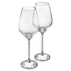 (SOLD OUT) Crystalline White Wine Glasses (Set of 2)