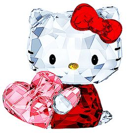 (SOLD OUT)  Hello Kitty Pink Heart