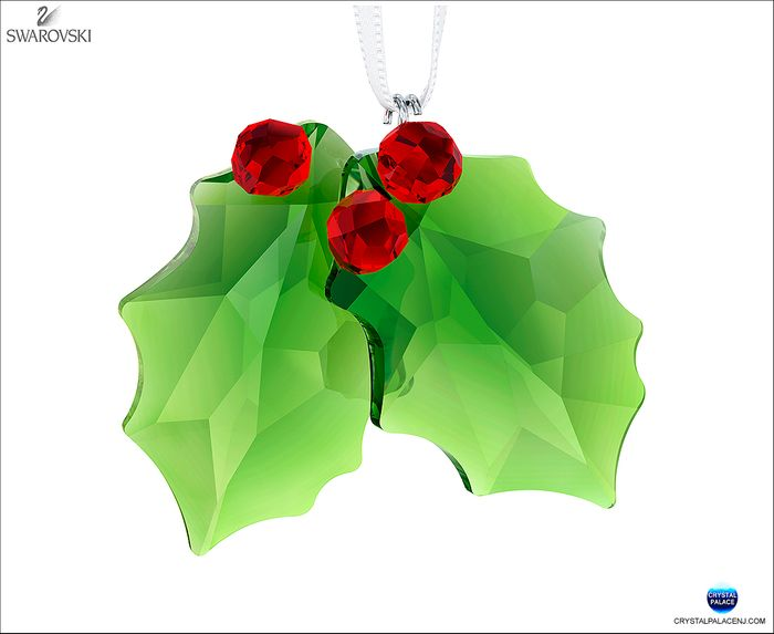 (SOLD OUT) Holly Ornament