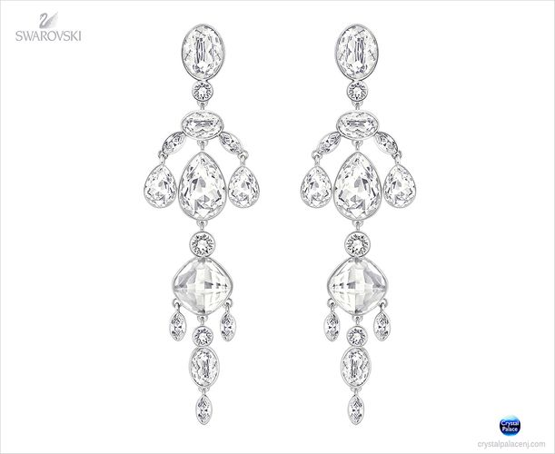 (SOLD OUT) Swarovski Diva Chandelier Earrings