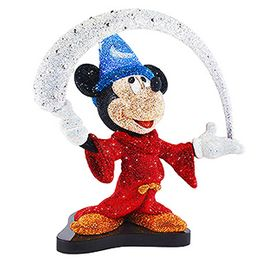 Crystal Myriad Mickey The Sorcerers Apprentice L.E.