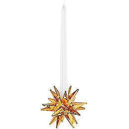 Star Candleholder, Golden Shadow