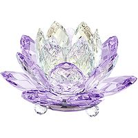 (SOLD OUT) Waterlily Candleholder, Violet