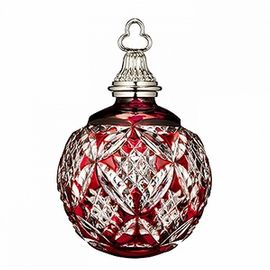 2015 Annual Red Cased Ball Ornament
