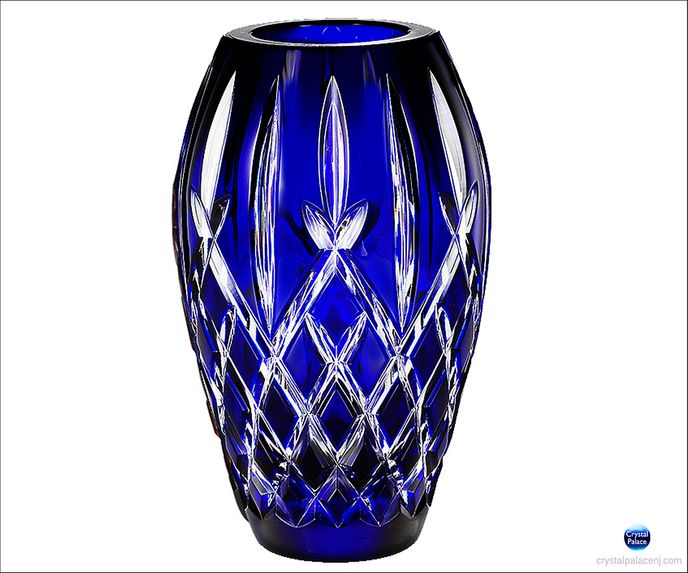 "(SOLD OUT) Araglin Prestige Cobalt 9"" Vase"