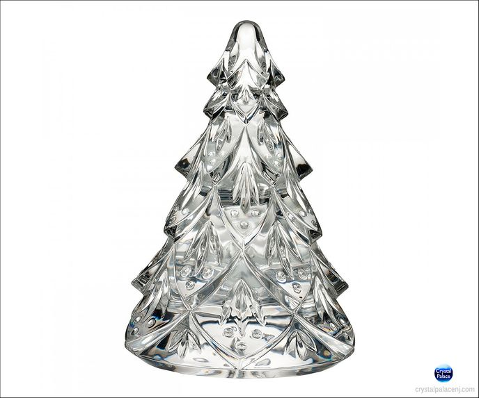Christmas Tree Large Sculpture, Clear