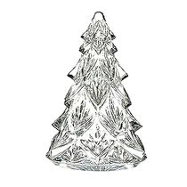 Christmas Tree Medium Sculpture, Clear
