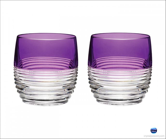 Mixology Circon Purple Tumbler, Set of 2