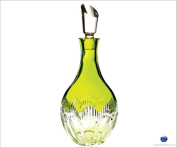 Mixology Neon Lime Green Decanter