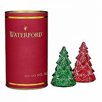 Giftology Red & Green Mini Tree, Pair