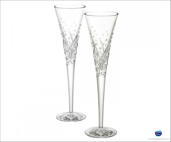 Happy Celebrations Flutes, Set of 2