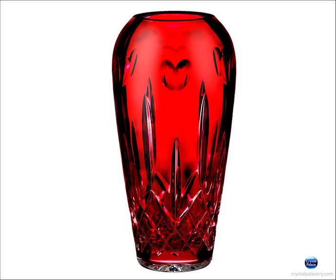 I Love Lismore Red Bud Vase