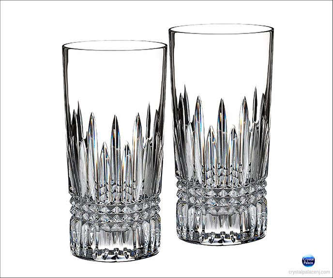 (SOLD OUT) Waterford Lismore Diamond Hiball, Set of 2