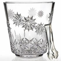 Snowflake Wishes Ice Bucket with Tongs